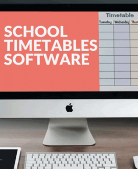 School Timetables Software